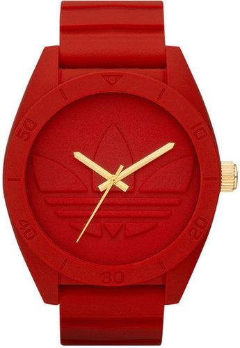 adidas Watch, Red Silicone Strap 50mm ADH2714