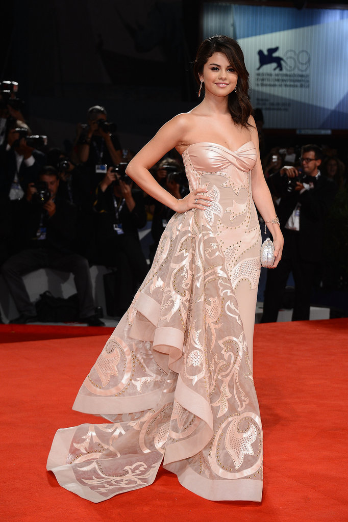Selena Gomez shined on the red carpet for the premiere of Spring Breakers during the 2012 festival.