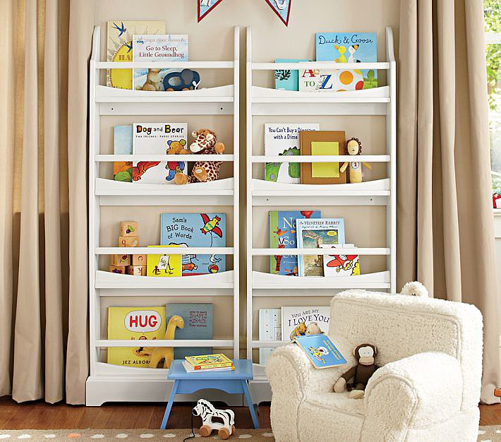 Madison Four-Shelf Bookrack