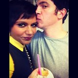 Messina showed some love for his costar. Source: Instagram user mindykaling
