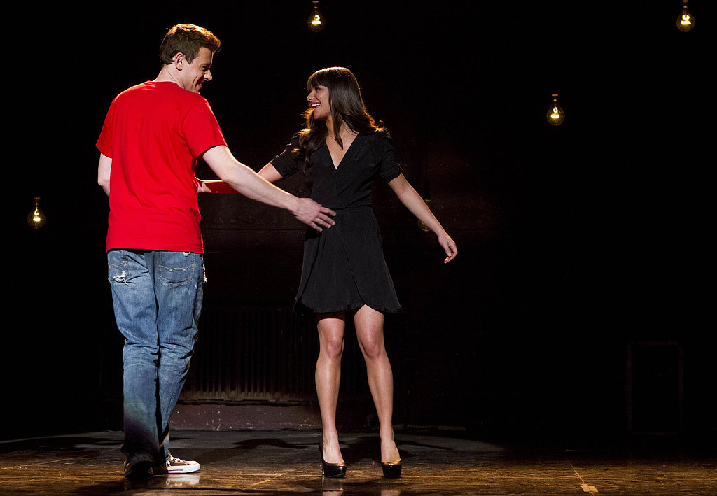 "When she heads home to Ohio, though, she returns to her roots — and Finn, who encourages her to sing a song that's dear to her heart when she auditions for Funny Girl. And just like that, we get a glimpse of ""Don't Stop Believin'"" Rachel."
