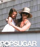Beach buddies Katie Holmes and Suri Cruise hit up the Hamptons for vacation over Fourth of July weekend.