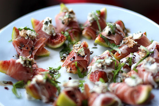 Prosciutto-Wrapped Figs