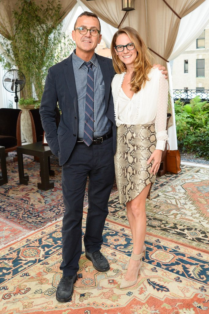 At the Kate Spade bash for Altuzarra, Steven Kolb and Karis Durmer dined stylishly.