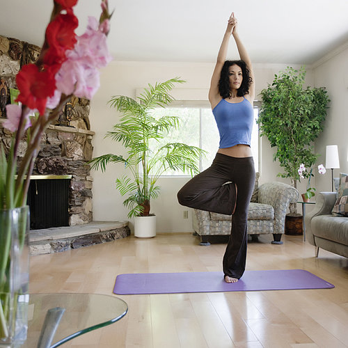 20-Minute Warrior Yoga Sequence With Playlist