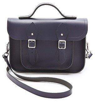 """Cambridge satchel 11"""" Satchel with Top Handle"""