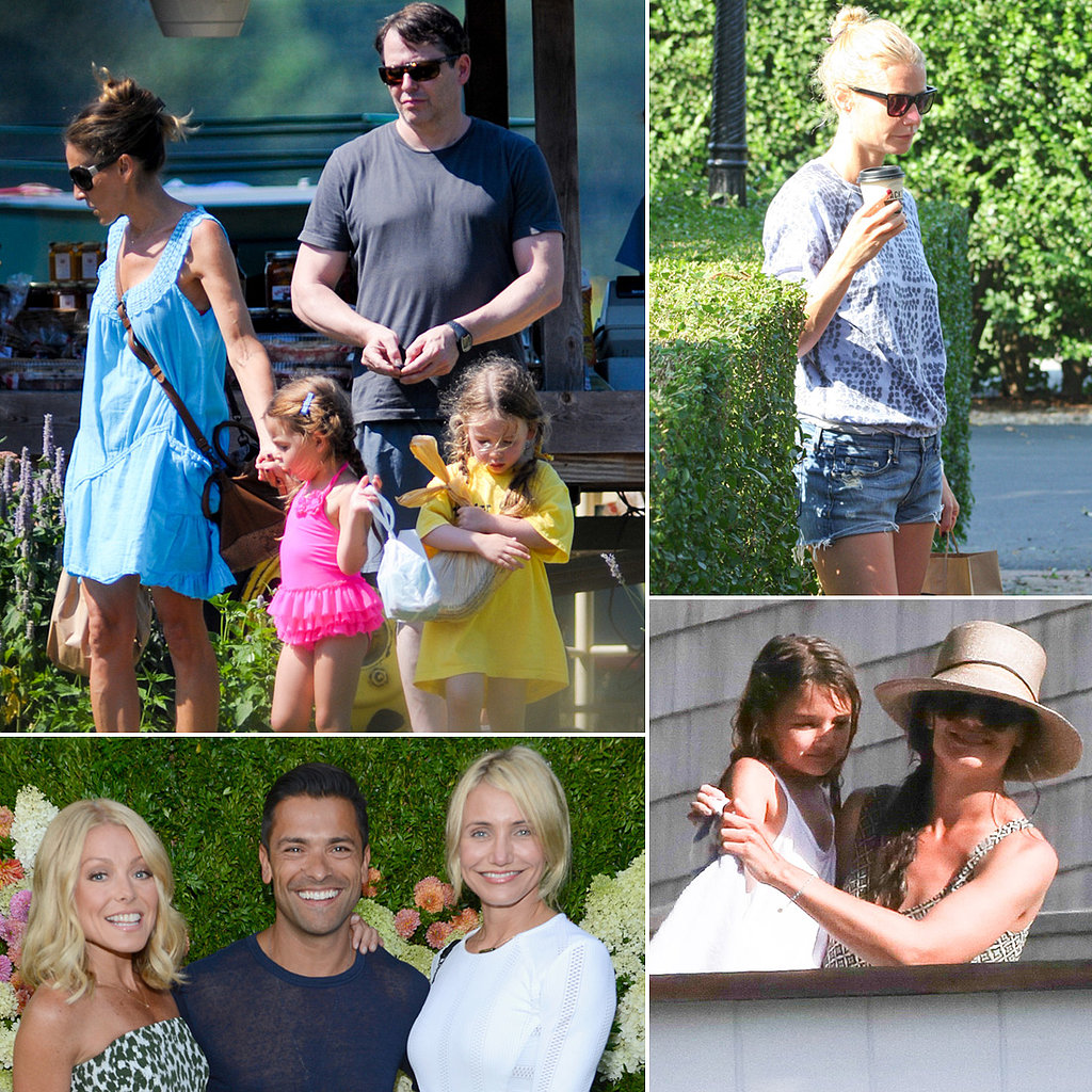 All the Stars Who Flocked to the Hamptons This Summer