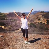 Kourtney Kardashian took a hike in LA. Source: Instagram user kourtneykardash
