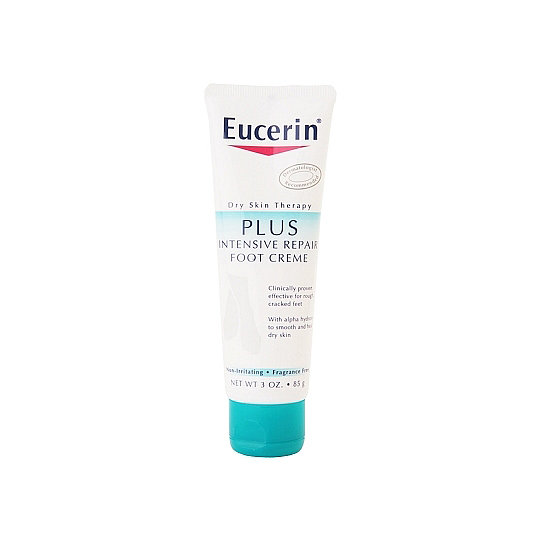 By the end of the week, feet are begging for a break, so Eucerin Intensive Repair Foot Creme ($6) is a Fashion Week staple. Models may be able to strut around New York City in sky-high heels, but alas we're still working on that skill.