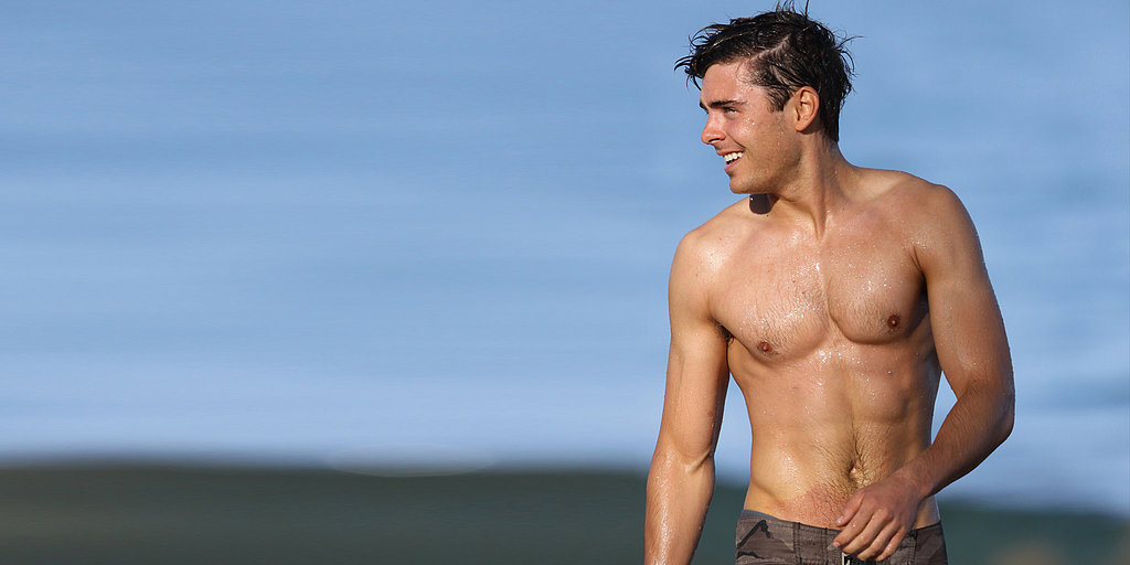 See Zac Efron's Hottest Shirtless Photos!