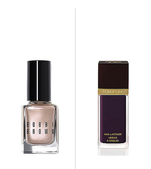 Soft metallics were pretty in the Summer, but Fall's nail trends are skewing a bit more on the moody side. Then: Bobbi Brown Shimmer Nail Polish in Pink Pearl ($18) Now: Tom Ford Beauty Nail Lacquer in Plum Noir ($32)