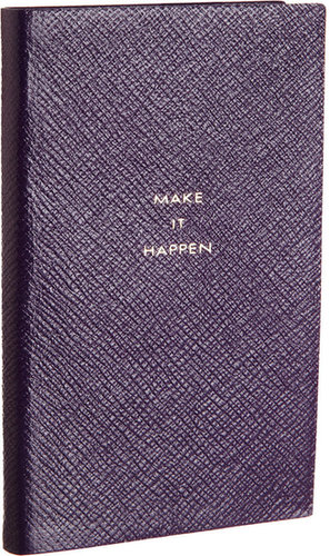 "Smythson Panama ""Make It Happen"" Notebook"