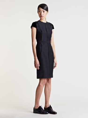 Women's Structured Silk Dress