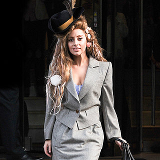Gaga Goes Galliano?