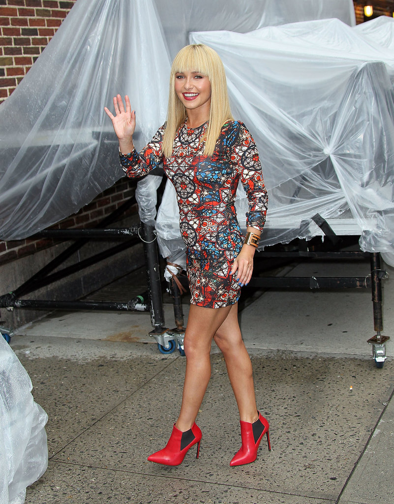 Hayden Panettiere Is Barely Recognizable With Her New Bangs
