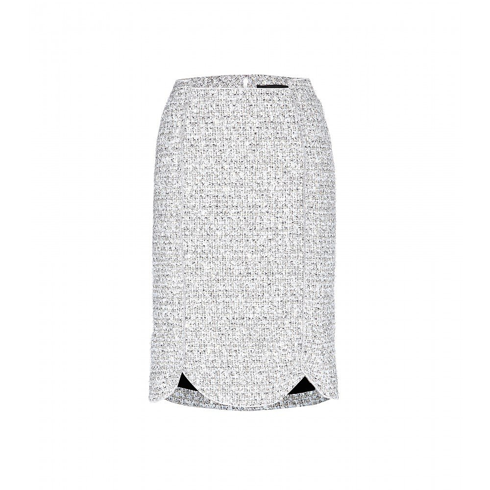 Nothing Says Fall To Me Like A Tweed Pencil Skirt The