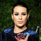 Lea Michele Hair and Makeup Pictures