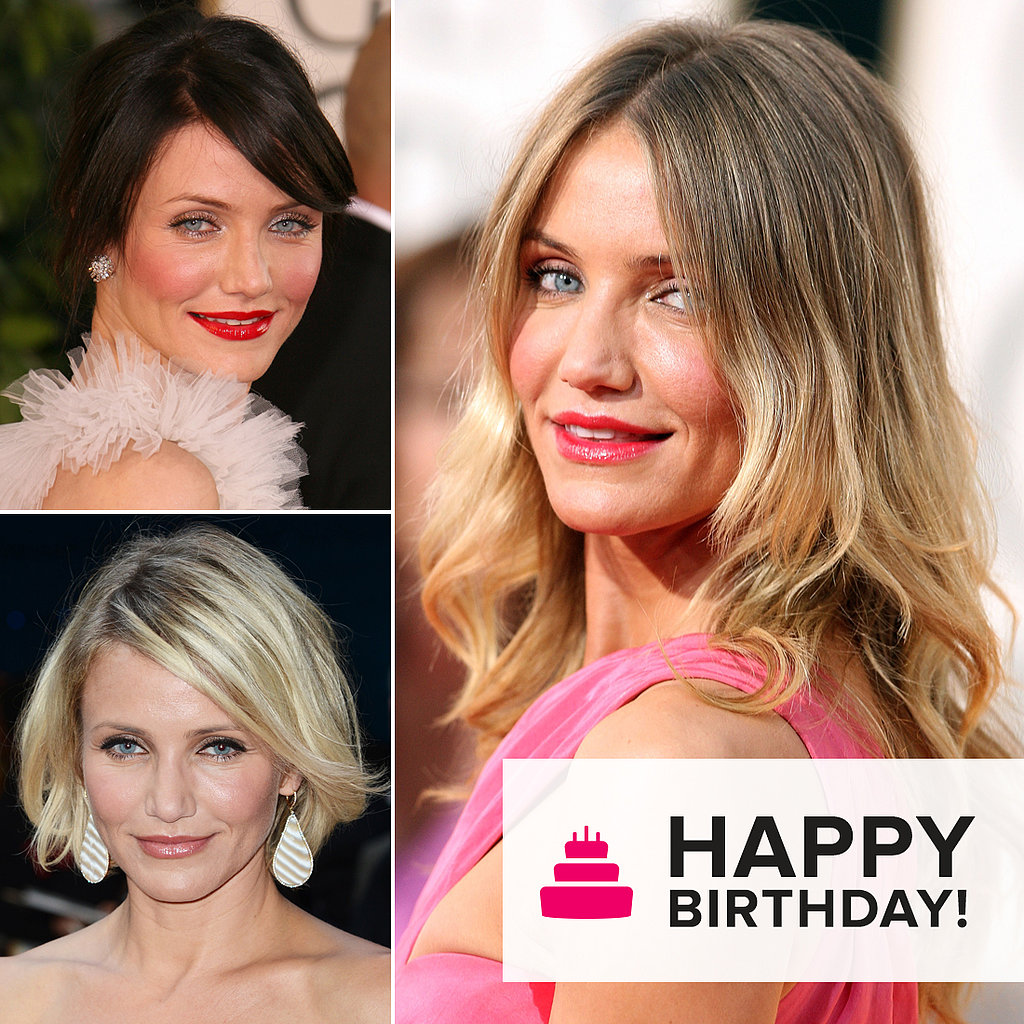 Happy Birthday, Cameron Diaz! See Her Hottest Beauty Looks