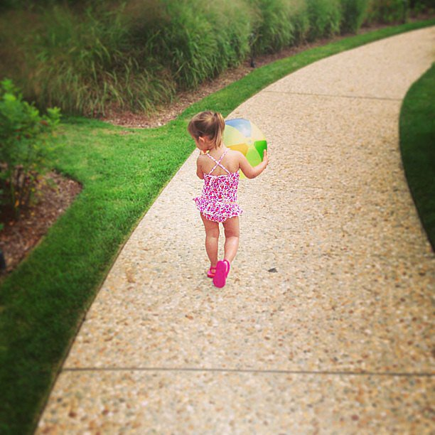 "Ivanka Trump and little Arabella took advantage of the ""final days of Summer!"" Source: Instagram user ivankatrump"