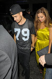 Liam Payne held the hand of his girlfriend, Sophia Smith, on Thursday night.