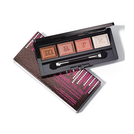 To celebrate its first decade of existence, Avon's baby sister, Mark, has launched the Mark The Day 10-Year Anniversary Eye Palette ($12). It includes four neutral, pearlized shades to complement a variety of skin tones.  — JR