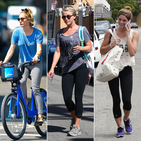 See?! Celebs Sweat Just Like Us!