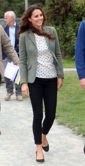 Kate Middleton Goes Country-Chic at First Post-Baby Appearance