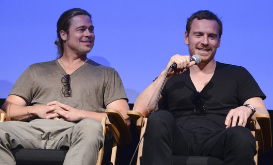 Share This Link Michael Fassbender And Brad Pitt