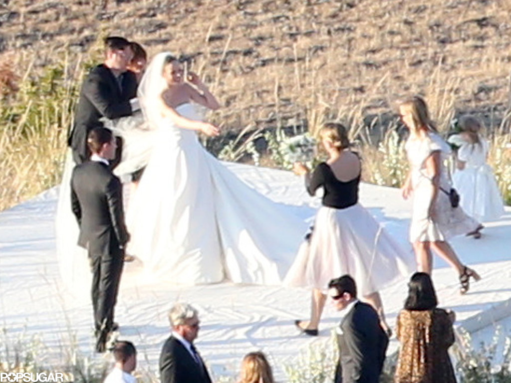 Kate Bosworth married Michael Polish on a ranch in Montana.
