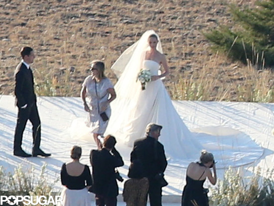 Kate Bosworth had a ranch wedding in Montana.