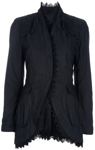 Ermanno Scervino Lace trimmed jacket