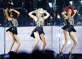 Beyoncé brought her signature dance moves to Philadelphia's Made in America Festival.