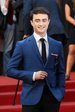 Daniel Radcliffe suited up for the premiere of Kill Your Darlings.