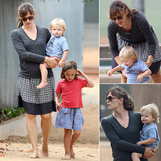 Jennifer Garner Is No Work and All Play For Labor Day