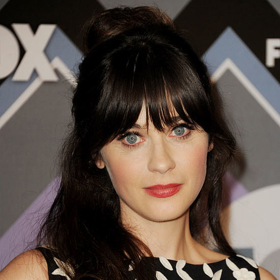 Zooey Deschanel Fringe and Hair Interview