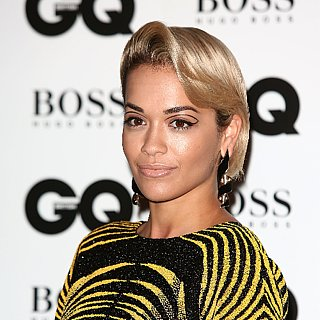 Rita Ora Graphic Eyeliner Look