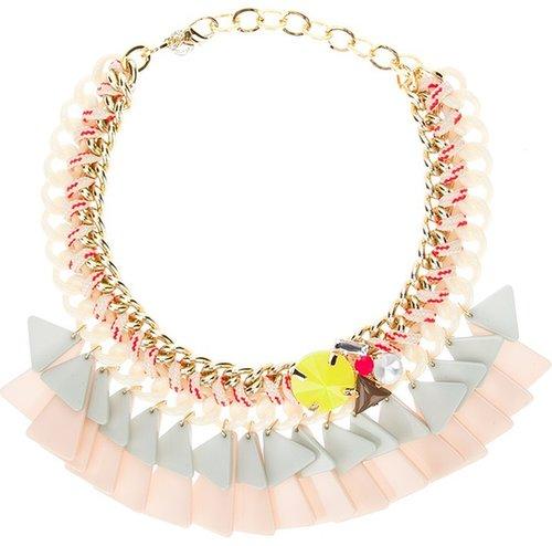 Marina Fossati triangle chain necklace