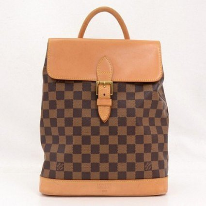 very good (VG) Louis Vuitton Damier Canvas Soho Special Edition Limited Backpack