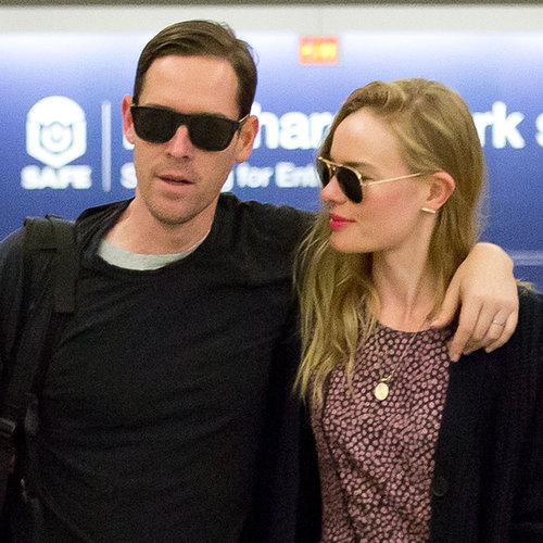 Kate Bosworth and Michael Polish at Montana Airport
