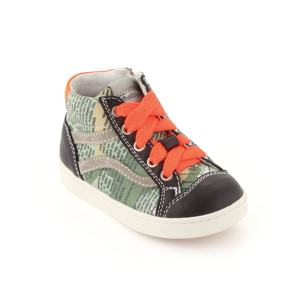 John Galliano Kids Gazette High Tops