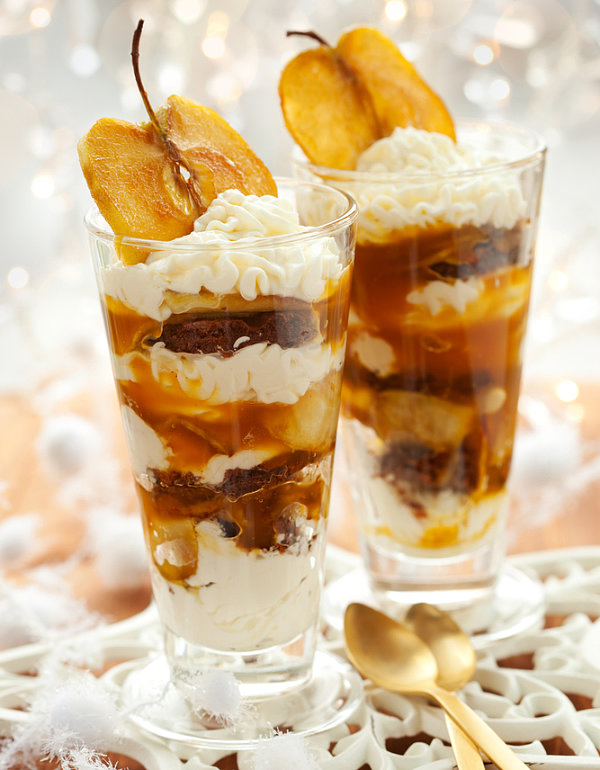 Apple Caramel Parfaits