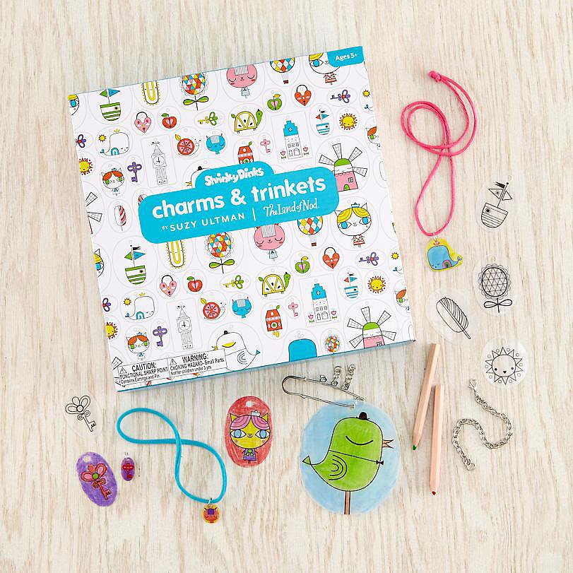 The Land of Nod Shrinky Dinks Charms & Trinkets