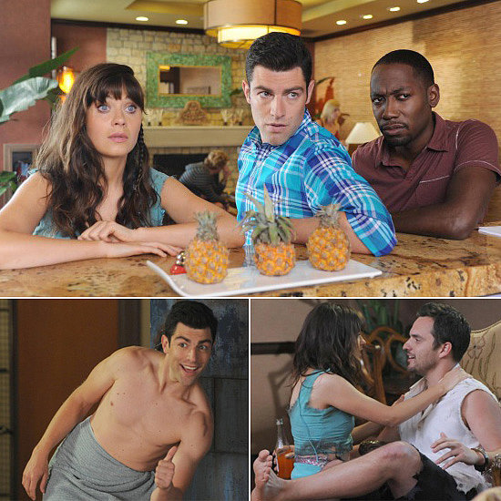 New Girl Premiere Pics: Nick and Jess Are Together and Schmidt Is Shirtless