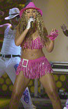 Beyoncé Knowles and Destiny's Child took the stage in June 2001 at the first annual BET Awards.