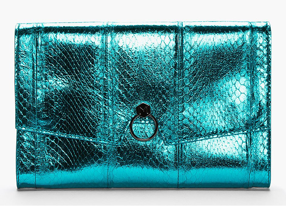 Clutch, approx $1085, Mugler at SSENSE.