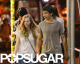New couple Amanda Seyfried and Justin Long held hands for a romantic stroll in NYC.