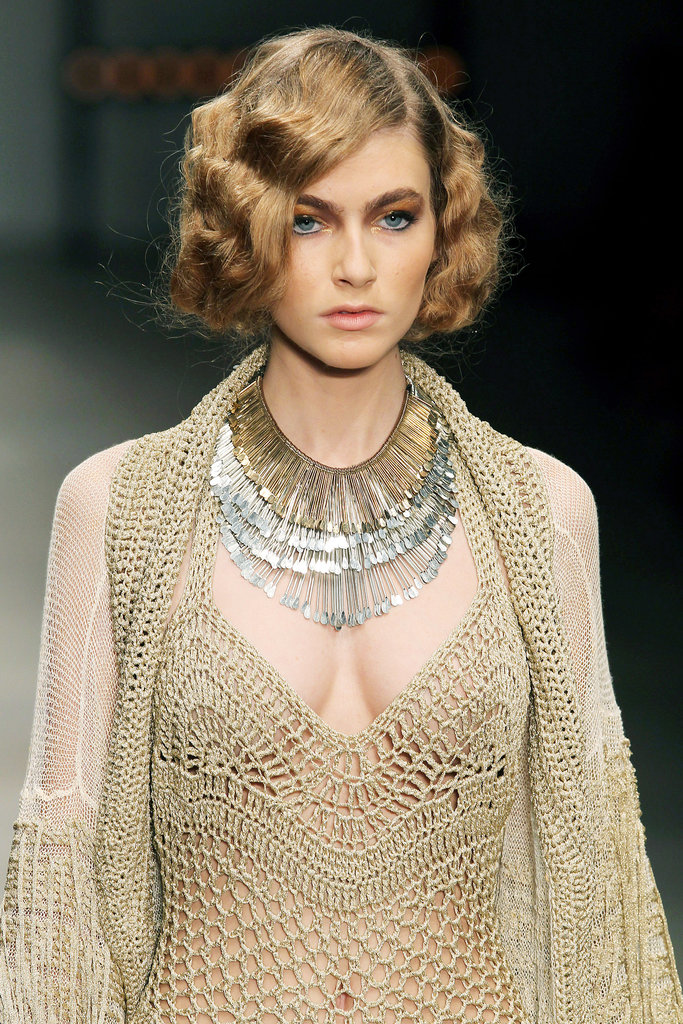 The glamorous '30s-inspired bobs created for Mark Fast's Spring/Summer 2012 show have gone down in LFW beauty history.