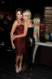Selena Gomez and Ashley Benson cozied up at the party for their film Spring Breakers at the film fest in 2012.
