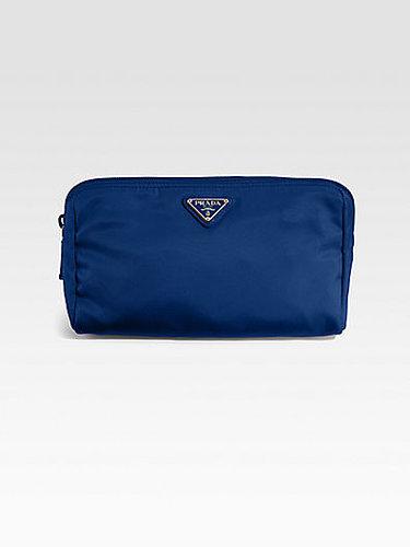Prada Nylon Triangle Cosmetic Bag