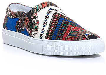 Givenchy Foulard print skater shoes